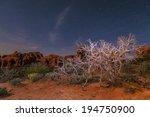windows formation at night  ... | Shutterstock . vector #194750900