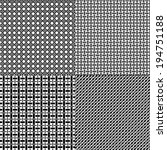 lattice patterns | Shutterstock .eps vector #194751188