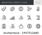 set of vector line icons...   Shutterstock .eps vector #1947512680