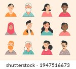 profile picture.young  seniors... | Shutterstock .eps vector #1947516673