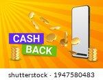 cash back. internet shopping...   Shutterstock .eps vector #1947580483