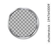 circle metallic silver frame... | Shutterstock .eps vector #1947643009