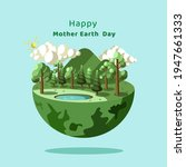 happy earth mother's day... | Shutterstock .eps vector #1947661333