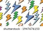 abstract retro pattern vector... | Shutterstock .eps vector #1947676153