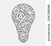 vector the symbol ideas  light... | Shutterstock .eps vector #194768048