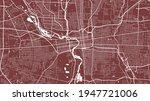 red vector background map ... | Shutterstock .eps vector #1947721006