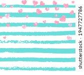 glamour template. mint glittery ... | Shutterstock .eps vector #1947727786