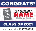 yard sign template for the... | Shutterstock .eps vector #1947728239