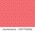 the geometric pattern with...   Shutterstock .eps vector #1947754036