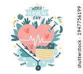 world health day. medicine and...   Shutterstock .eps vector #1947756199