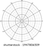 polar grid with concentric...   Shutterstock .eps vector #1947806509