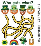 who gets what  game with... | Shutterstock .eps vector #1947891946