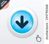 download icon. upload button....