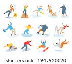 collection stickers with... | Shutterstock .eps vector #1947920020