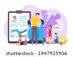 fitness coach for healthy... | Shutterstock .eps vector #1947925906