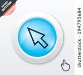 mouse cursor sign icon. pointer ...