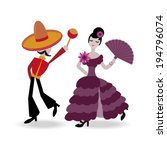 abstract,art,body,composition,couple,creative,dame,dance,dancer,drawing,dress,fan,female,flamenco,flower