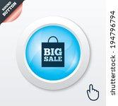 big sale bag sign icon. special ...