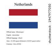 netherlands national flag ...   Shutterstock .eps vector #1947977050