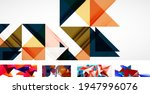 set of trendy futuristic...   Shutterstock .eps vector #1947996076
