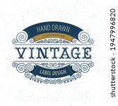 vintage style label... | Shutterstock .eps vector #1947996820
