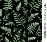 seamless floral pattern with... | Shutterstock .eps vector #1948012933