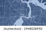 blue vector background map ... | Shutterstock .eps vector #1948028950