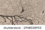 brown vector background map ... | Shutterstock .eps vector #1948028953