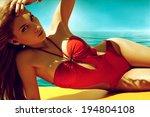 Beautiful Woman In Bikini...