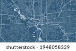 blue vector background map ... | Shutterstock .eps vector #1948058329