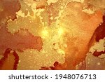 gold  orange and red abstract...   Shutterstock .eps vector #1948076713