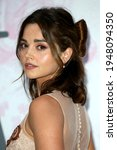 Small photo of London, United Kingdom - June 19, 2019: Jenna Coleman attends The Victoria and Albert Museum Summer Party 2019 in partnership with Dior in London, England.
