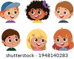 set of children s emotions....   Shutterstock .eps vector #1948140283