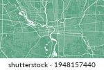 green vector background map ... | Shutterstock .eps vector #1948157440