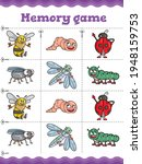 insects memory game.... | Shutterstock .eps vector #1948159753