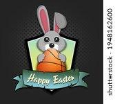 Happy Easter. Easter Logo...
