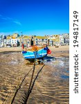 Fishing Boat On The Beach At St ...