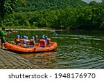 Whitewater Rafts Ready For A...