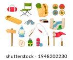 camping children summer camp... | Shutterstock .eps vector #1948202230