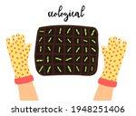 ecological vegetables.... | Shutterstock .eps vector #1948251406