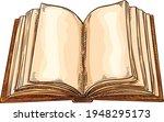 books notebooks reading list... | Shutterstock .eps vector #1948295173