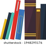 books notebooks reading list... | Shutterstock .eps vector #1948295176