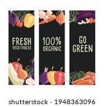 three vertical banner templates ... | Shutterstock .eps vector #1948363096