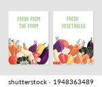 two vertical poster templates... | Shutterstock .eps vector #1948363489