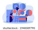 team of young people arranging... | Shutterstock .eps vector #1948389790