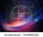 geometry of space series....   Shutterstock . vector #194840183