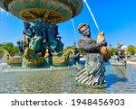 Beautiful Historic Fountain In...