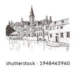 Travel Sketch Of Bruges ...
