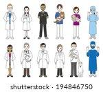 doctor   veterinarian   Shutterstock .eps vector #194846750