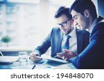 image of young businessman... | Shutterstock . vector #194848070